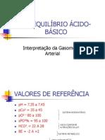 Gasometria Arterial[1]