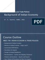 Introduction & Background of Indian Economy