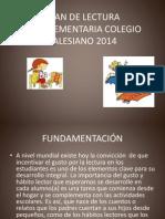 Plan de Lectura Complementaria Colegio Salesiano 2014