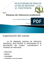 Sistema de Referencia Anatomica