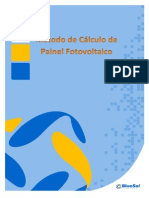 Método de Cálculo de Painel Fotovoltaico_BS