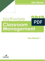 Classroom Management User Manual