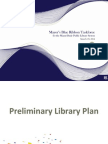 Preliminary Library Plan from Mayor's Blue Ribbon Task Force For the Miami-Dade Public Library System