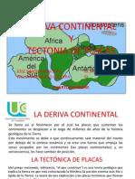 Presentacion Deriva Continental y Tectonismo