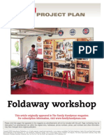 Foldaway Workshop - FH03Sep