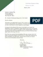 [FOIA] Letter From Lori Hartmann F-2012-36692