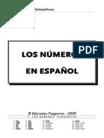 LOS NUMEROS EN ESPAÑOL completo ZULU