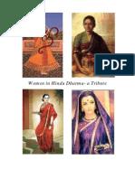 Women in Hindu Dharma- a Tribute