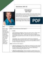 book report edu533