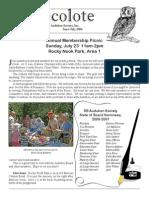 July 2006 Santa Barbara Audubon