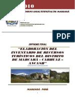 informefinalinventariodelosrecursosturisticosdemarcara-110517224513-phpapp01
