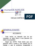 PRIMEROS AUXILIOSpao