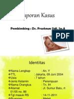 Lapkas 2, Dr. Prastowo, Sp. a- Thalasemia, Ervin