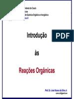 Introdução a reações orgânicas