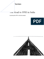 The Road to IFRS in India