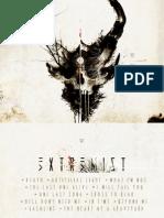 Digital Booklet - Extremist