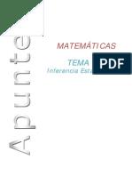 Tema 11-12 Inferencia Estadistica Ccss II