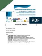 Seminario Internacional MYPES_Programa General