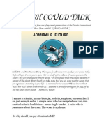 if fish could talk - blog