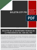 Boletín 22 STP 85 Aniversario del PRI