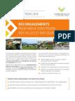 Vivre en Ville Des Engagements Pour Mieux Construire Nos Villes Elections 2014