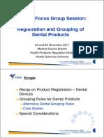 Dental Focus Group November 2011