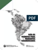 Guia Tramites Migrantes Sudamericanos