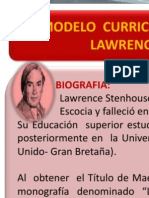 Diapositiva Lawrence Stenhouse