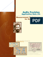 Audio Precision AN5 Digital Audio Measurement