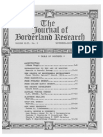 Journal of Borderland Research - Vol XLII, No 6, November-December 1986