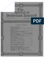 Journal of Borderland Research - Vol XLII, No 5, September-October 1986