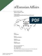 Journal of Eurasian Affairs, Vol. 2, No. 1