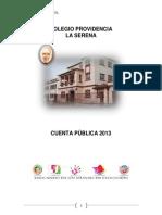 Coprov - Cuenta Publica 2013