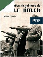 Cuatro Anos de Gobierno de Hitler