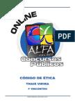 Alfa - Código de Ética do Servidor Público - Encontro 01