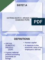 Katrina Burch, Ariana Hudson, Diamond Pope