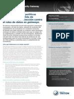 Datasheet Data Security Gateway Es