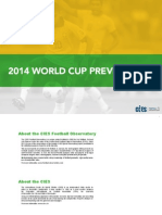 CIES, World Cup 2014 Preview