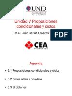 Proposiciones Condicionales y Ciclos