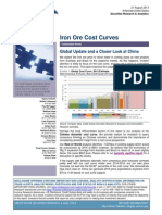 Iron Ore Cost Curves
