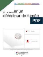 fnstaller-un-detecteur de fumée