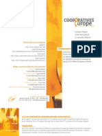 Cooperatives Europe brochure