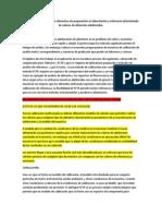 Análisis de adulteración de alimentos sin preparación en laboratorios o referencia determinada de valores de alimentos adulterados