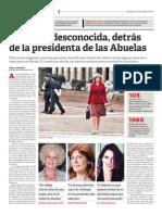 La Estela desconocida, detrás de la presidenta de las Abuelas (Miradas al Sur 27/11/2011 -Pág. 1 de 2)