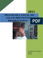 Programa Anual de Salud