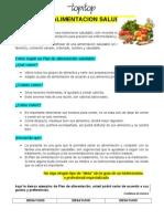 Afiche de Salud Nutricional