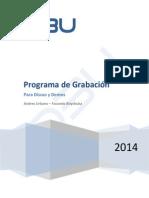 DbU - Programa de Grabacion