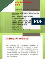 Derecho Económico LEY DE COMERCIO EXTERIOR Y OTROS