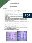 Investigating Anaerobic Respiration in Yeast