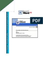 Apostila Completa de Word XP 2003